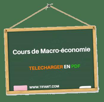 cours de macroeconomie