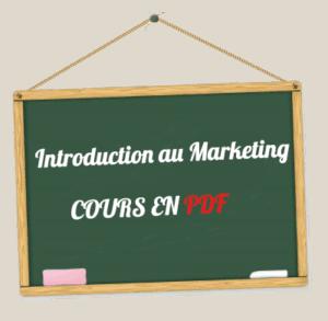 Introduction au Marketing