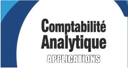 applications corrigés comptabilité analytque