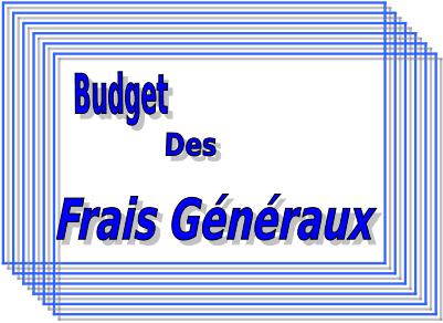 budget des frais généraux