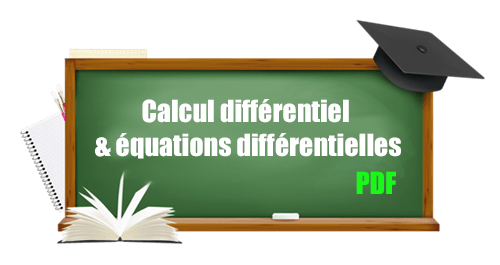 calcul différentiel & équations différentielles