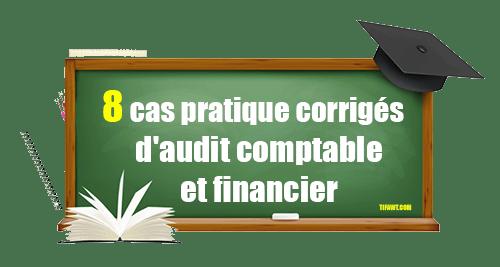 cas pratique audit comptable et financier