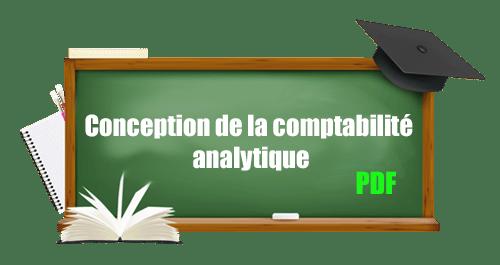 Conception de la comptabilité analytique