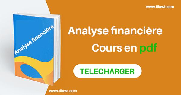 Cours d'analyse financière en pdf