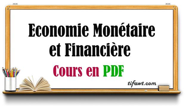 Economie monétaire et financière