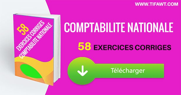 exercices corrigés de comptabilité nationale