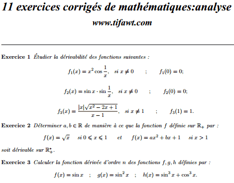 exercices-mathematiques-corriges