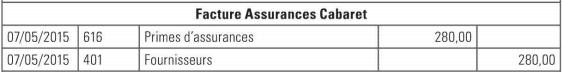 facture assurances