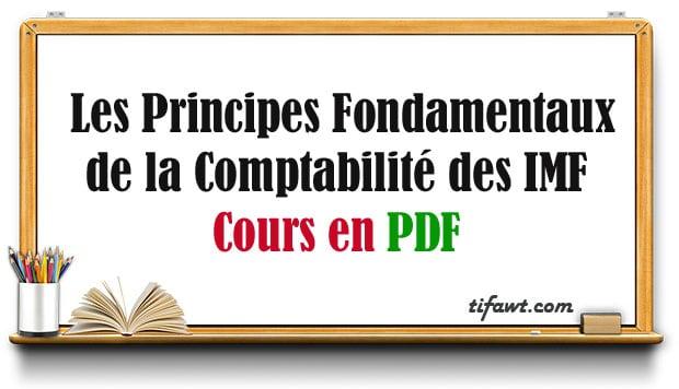 Les Principes Fondamentaux de la Comptabilité des IMF