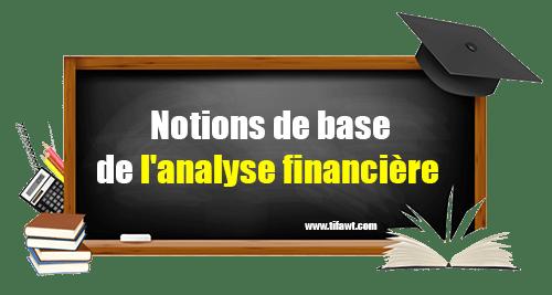 Notions de base de l'analyse financière