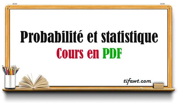 Cours de Probabilité et statistique